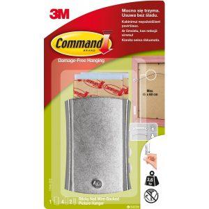 3M Command Закачалка за картини метална