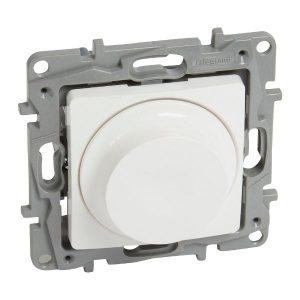 764588. Димер ротативен универсален+LED, 5-75/300W, Niloe, бял