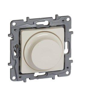 764688. Димер ротативен универсален+LED, 5-75/300W, Niloe, крем